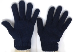 60 Gram Cotton Knitted Safety Hand Gloves