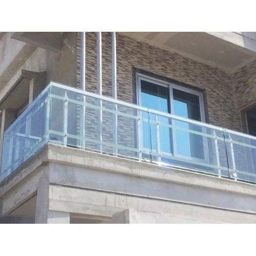 Ss Glass Ss Glass Grill Rs 1250 Running Feet Baroda Steel Id