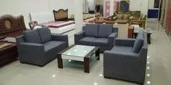 Grey 6 Seater Sofa Set, for Home