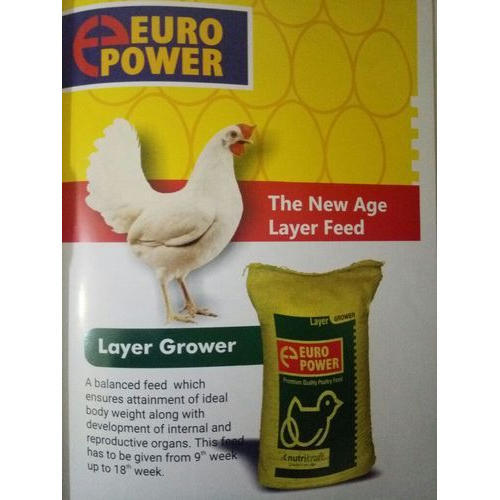 Nutrikraft Layer Grower Poultry Feed Packaging Type Hdpe Bag Rs