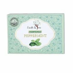 Earth & You Pampered Peppermint Soap, For Bathing