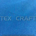 Plain Blue Polyester Clothing Fabric, Gsm: 120 To 220