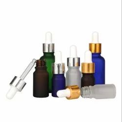 Frosted Glass Essential Oil Bottles