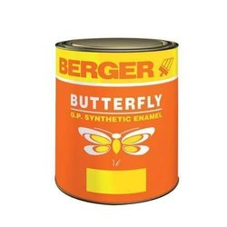 Mid Sheen Oil Based Paint Berger Synthetic Enamel Paint, Packaging Type: Tin