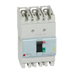 DPX3 160 MCCB 3P Breaking Capacity Icu 16 KA (400 V) 80A