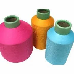 Bright Dyed Polyester Cotton Textured Yarn