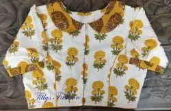 Cotton Designer Blouse