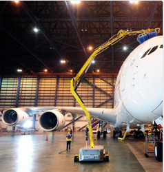 Automated Exterior Aircraft Cleaning Service In Airlines House Delhi Triple F Consultancy