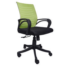 The Verde Green And Black Task Chair (VJ-0162)