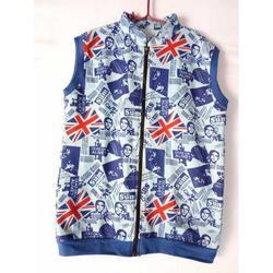 Boy's Printed Winter Jacket