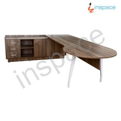 Wooden L Shape EMPEROR - CEO Table, For Office, Warranty: 1 Year