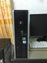 Hp Series Used Desktop Full Set Core 2 Duo With Warranty