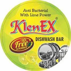 Klenex Dish wash baar, Packaging Type: 400gm