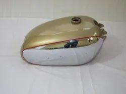 New BSA Golden Flash A10 Plunger Model Golden Painted Chrome Petrol Tank