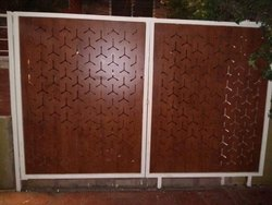 HPL Cladding System Gate