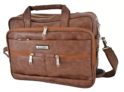 Office Rexine Laptop Bags