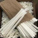 8 mm White Paper Straw