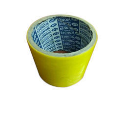 Yellow Colour Tape, Packaging Type: Carton, for Packaging