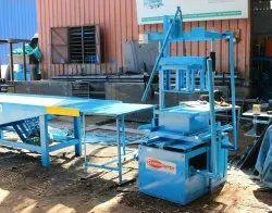 Hand Operated Manual Block Making Machine