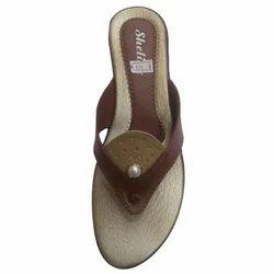 Ladies Brown Footwear