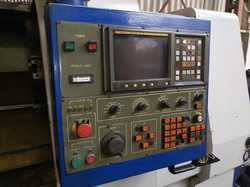 USED & OLD MACHINE - JOHNFORD TC-50 CNC TURNING LATHE  MACHINE AVAILABLE IN MUMBAI WAREHOUSE