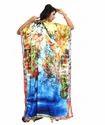 Daily Casual Wear Women''s Satin Silk Kurta Kaftan Designs