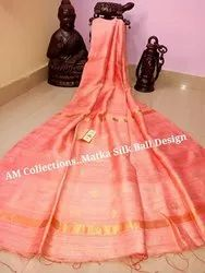 Premium Quality Matka Ball Design Handloom Saree