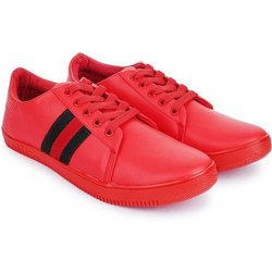 Casual Lace Up Boys Synthetic Leather Light Weight Shoes, Size: 6-10