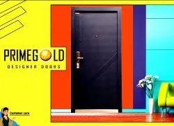 Metal Color Coated Scratch Resistant Steel Door PGS -8