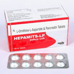 L-Ornithine L-Aspartate & Pancreatin Tablet
