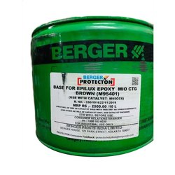 High Sheen White Berger Protection Base Paint, Paste, Packaging Size: 12liter