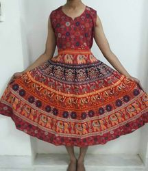 Mandala Cotton Dress