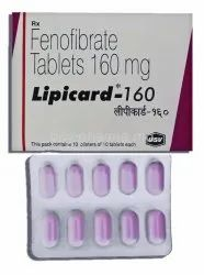 Finofibrate Tablet 160 mg