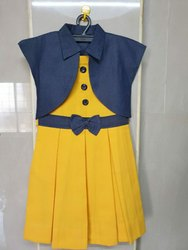 Terycot Gender: Girls KG School Uniform