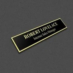 Brass Etching Name Plates