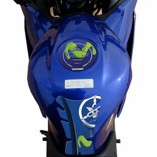 Bluenza Yamaha R15 Bike Tank Sticker
