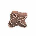 Bird Pattern Wooden Henna Block