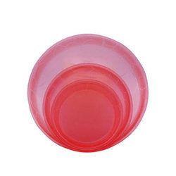 Acrylic Round Crockery Plate