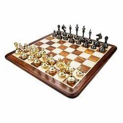 Luxury Brass Chess Set