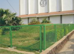Perimeter Green Fencing Net