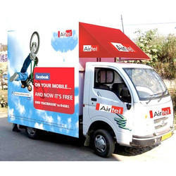 Outdoor Mobile Van Branding Service