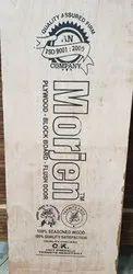 Bruwn Hard Wood Flash Door, Size/Dimension: 8x4