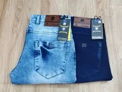 Men Blue Shaded Jeans