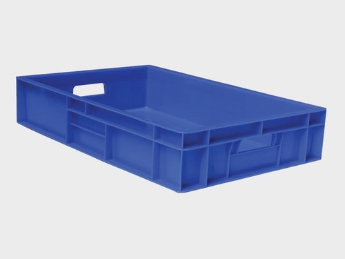 Industrial Perforated Plastic Crate