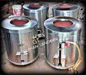 S Steel Gas And Charcoal Domestic Tandoor 18X28
