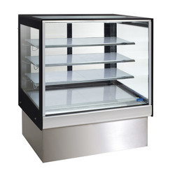 SS Cake Display Counter with Air Cooling System