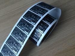 Mobile Battery Labels