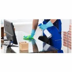 Office Table Sanitization and Cleaning Services