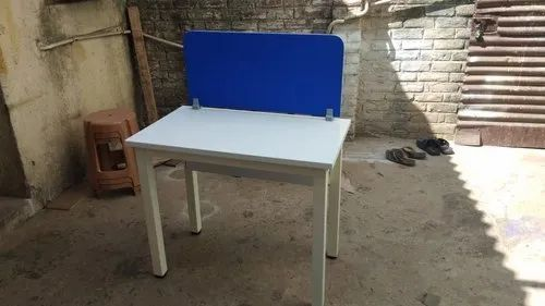 Pleasing Rectangular White And Blue Wooden Work Table Id 21366270112 Ibusinesslaw Wood Chair Design Ideas Ibusinesslaworg