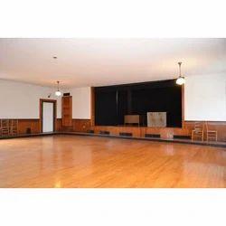 Brown Wooden Stage Flooring, For Indoor